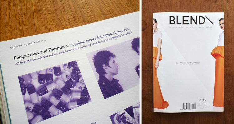 Blend Magazine – Justin Blyth