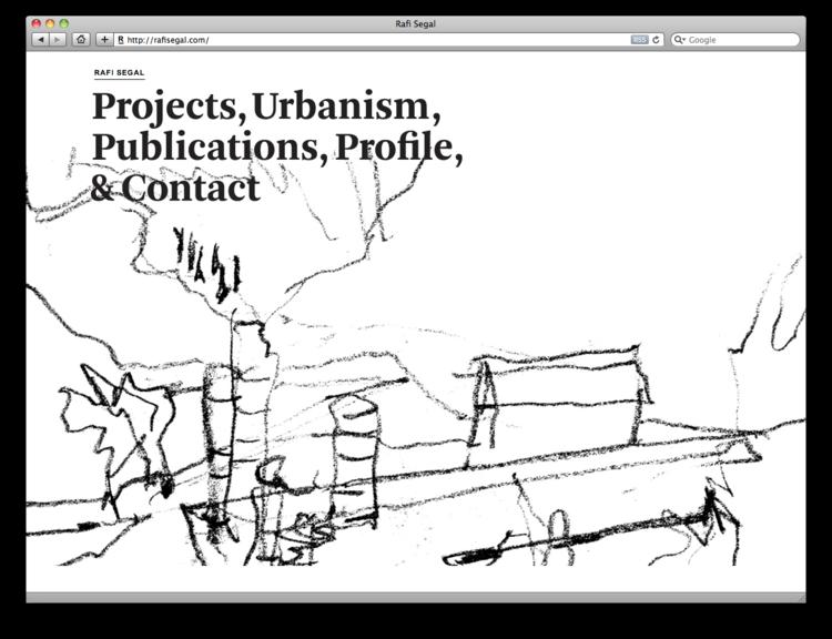 Project Projects — Rafi Segal website