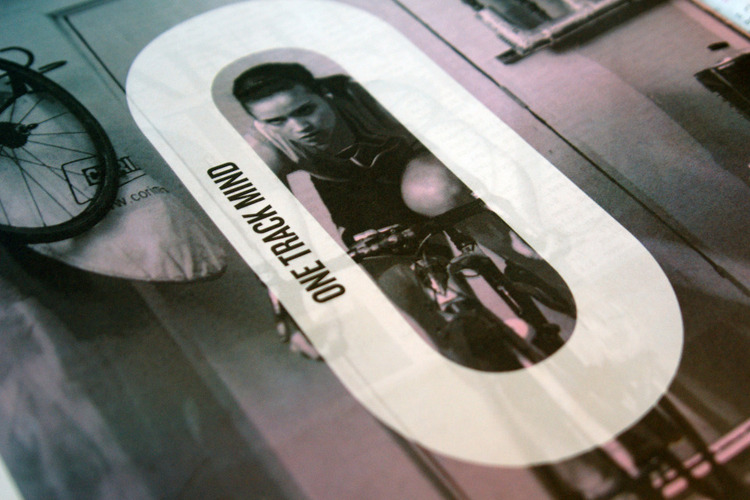 Fixed + One Magazine : Michael Mercer Brown : Graphic Design