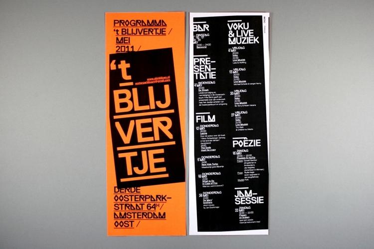 OK200 / Graphic Design Studio / Amsterdam / 't Blijvertje