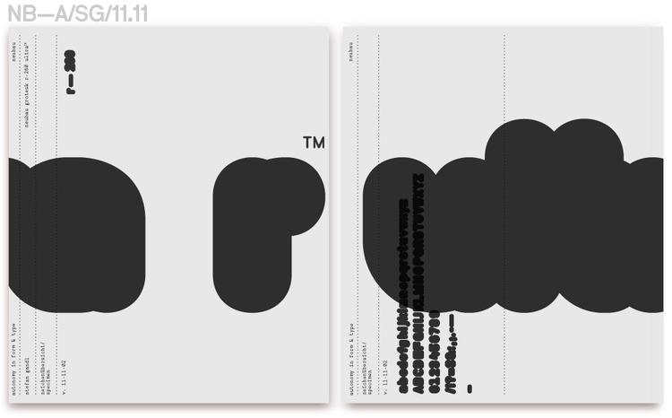 Neubau (Berlin)/NB-Grotesk-260R™, AIF Specimen Catalogue