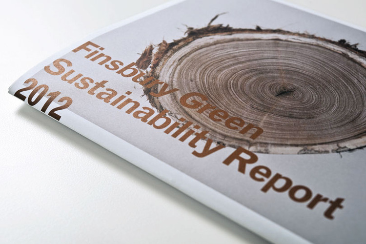 Mark Gowing Design   Featured   Finsbury Green Sustainability Report