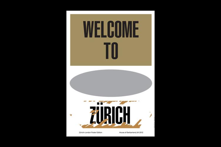 Zurich-London Poster Edition - OK-RM