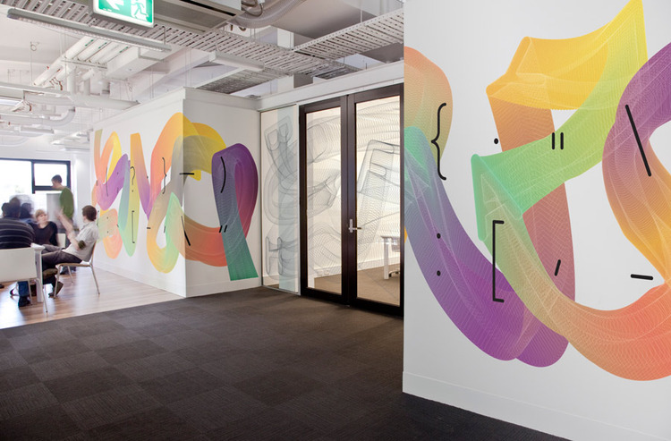 RMIT Wall Graphics : Hamish Smyth