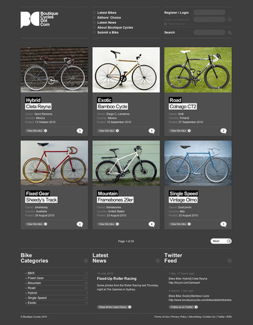 Boutique Cycles   Gridness
