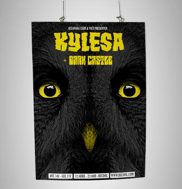 KYLESA / DARK CASTLE poster on the Behance Network