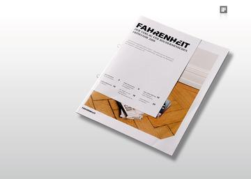 hauser lacour » projekte » editorial design » fahrenheit verlag