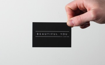 Beautiful You By Claudia.   Two Times Elliott. Creative Agency, Notting Hill. +44 (0)203 214 3133