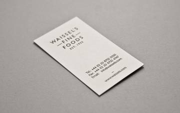 Waissels Fine Foods. | Two Times Elliott. Creative Agency, Notting Hill. +44 (0)203 214 3133