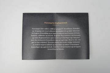 Forening for Boghaandvaerk - Kasper Pyndt Studio