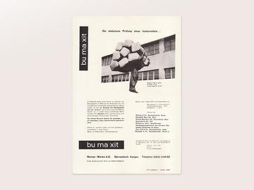 Display | Bu Ma Xit Ad 2 Carlo Vivarelli | Collection