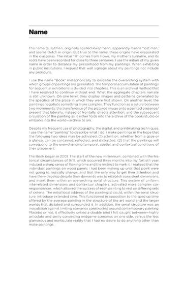 Sternberg Press - R. H. Quaytman