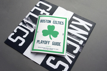 Celtics Playoff Guide : Michael Mercer Brown : Graphic Design