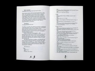 Matthijs 'Matt' van Leeuwen | JvE Program Brochure 2007