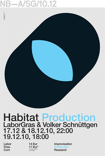 Neubau (Berlin)/LaborGras Poster-Series, Communication Design
