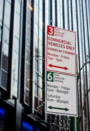 NYC DOT Parking Signs : Hamish Smyth