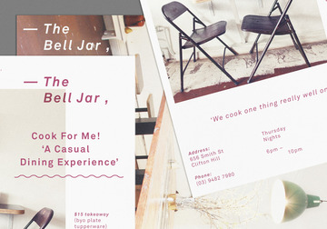 Surya Prasetya | Graphic Design | Melbourne | Bell Jar Invite