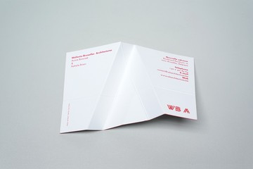 A wish card for Wallonie-Bruxelles Architectures (WBA).