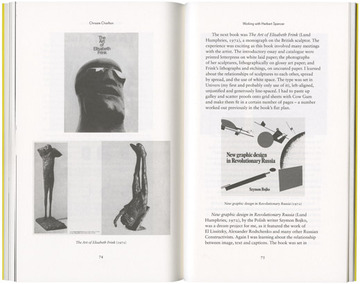 Fraser Muggeridge studio: Sara De Bondt and Fraser Muggeridge: The Form of the Book Book, Occasional Papers 2009