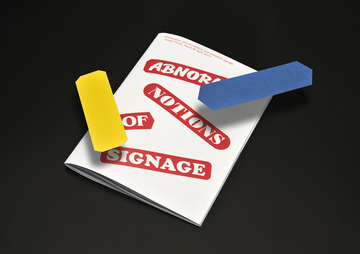 ABNORMAL SIGNAGE - Kasper Pyndt