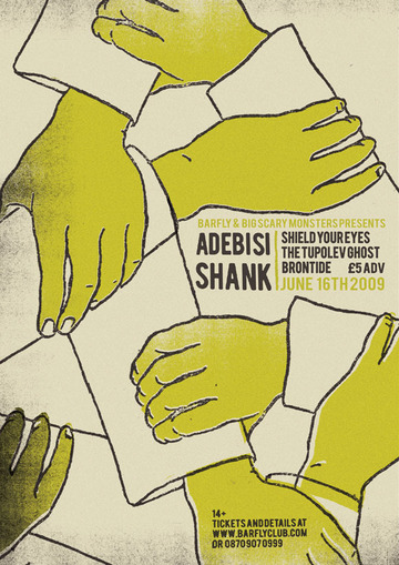 ADEBISI SHANK : Telegramme Studio