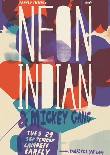 NEON INDIAN : Telegramme Studio