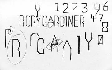 Rory Gardiner : Hamish Smyth
