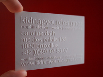 kidnap your designer