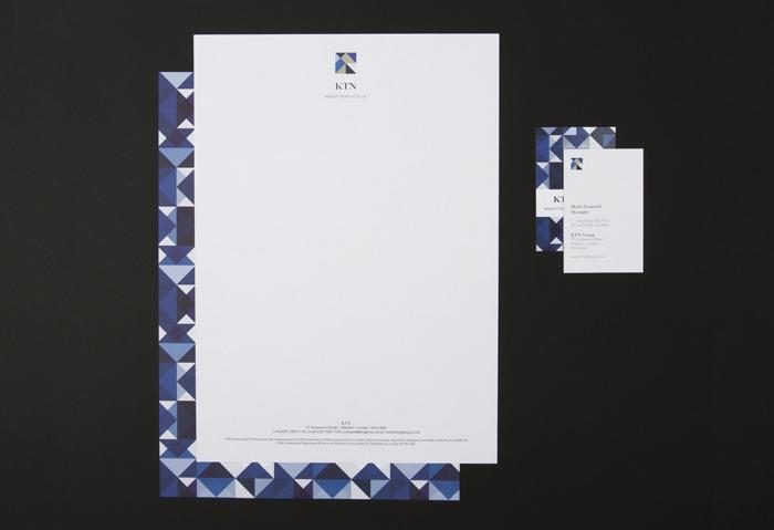 KTN Group – Stationery « IYA STUDIO LONDON | DESIGN | ART DIRECTION