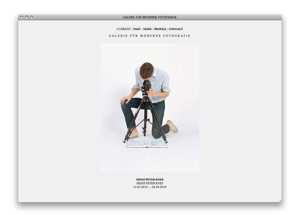 123buero » Projects » Galerie für Moderne Fotografie