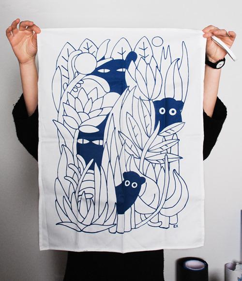 E.X. - Elena Xausa / Work / Images / Tea Towels