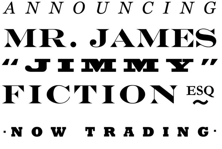 Jimmy Fiction Esq. - HOME
