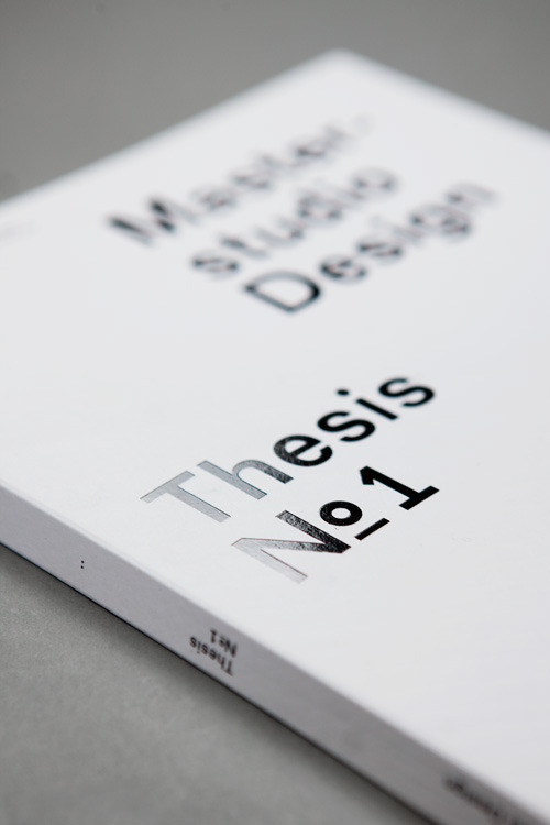 thesis package design