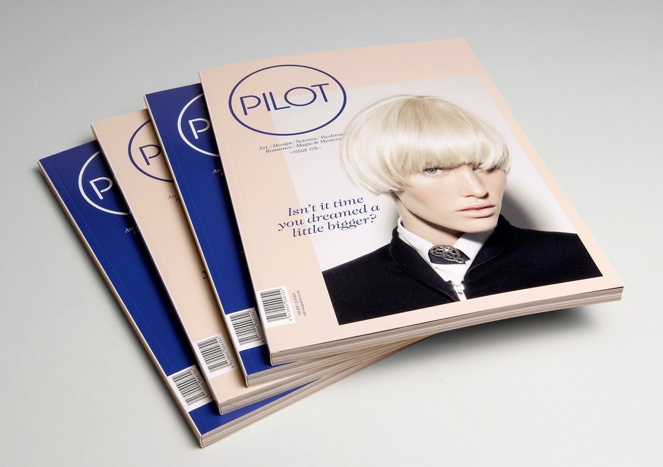 Best Awards - Inhouse Design. / Pilot Magazine, Issue#5