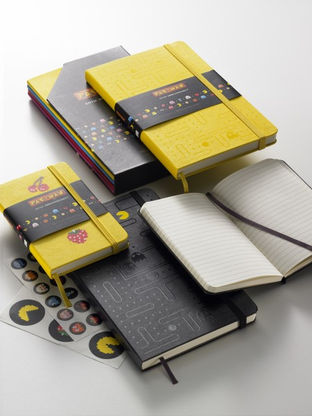 Holycool.net: Limited Edition Pac-Man Moleskine Notebooks