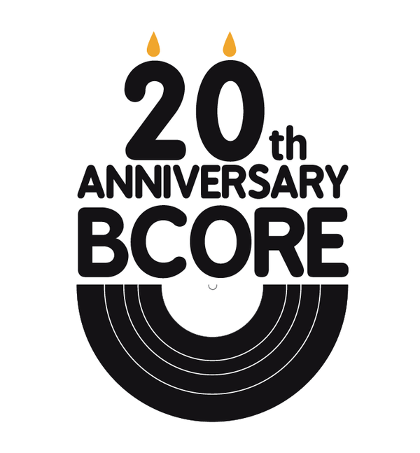 BCore 20th Anniversary Logo on the Behance Network