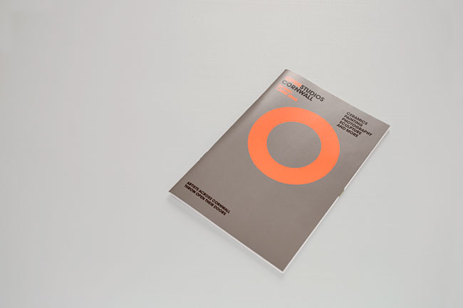Open Studios Cornwall 2007-2010 Event Identity, Guide and Posters | Two