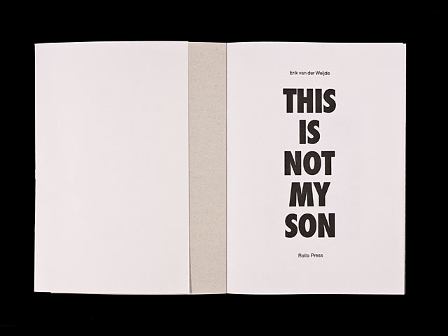 This is not my Son : Rollo Press™