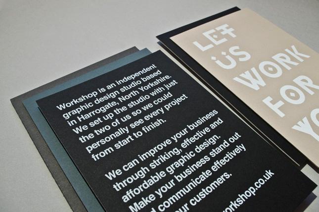 Let Us Work For You - Workshop Graphic Design & Print - Harrogate & Leeds, Yorkshire