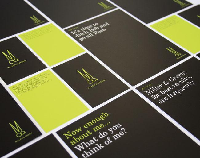 Miller & Green | Identity Designed