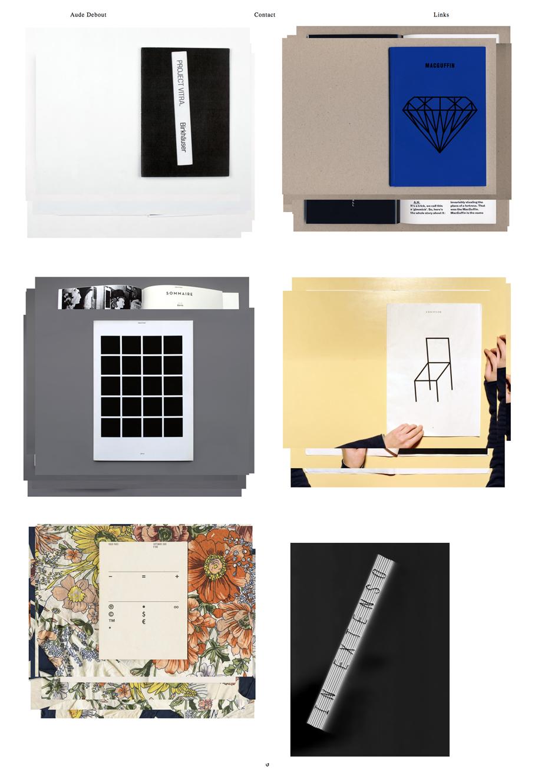 Aude Debout « Raphaël Bastide ▬ Work