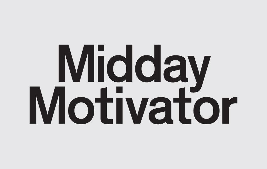 Midday Motivator » Studio Verse