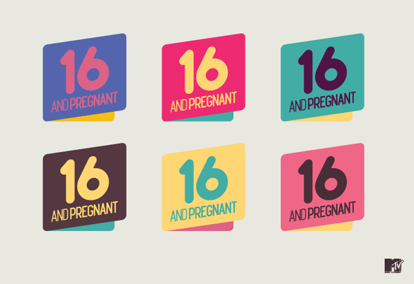 MTV 16 & pregnant on the Behance Network