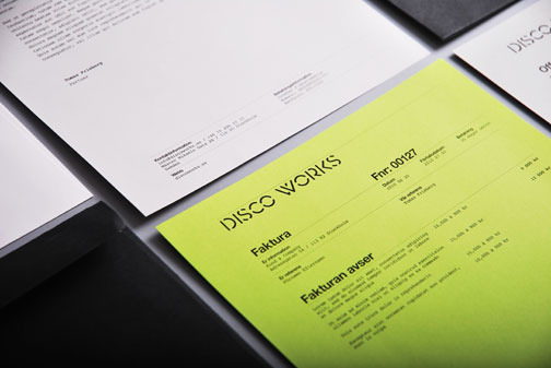 Nikolaj Kledzik – Art Diredtion & Graphic Design – Disco Works – Visual Identity