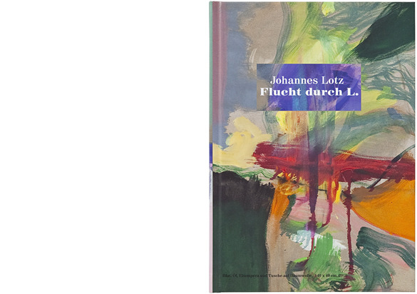 büro uebele // a picture book: johannes lotz »flucht durch l.« exhibition catalogue 2010