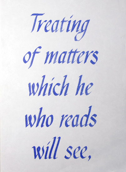 Treating of matters | Hato Press