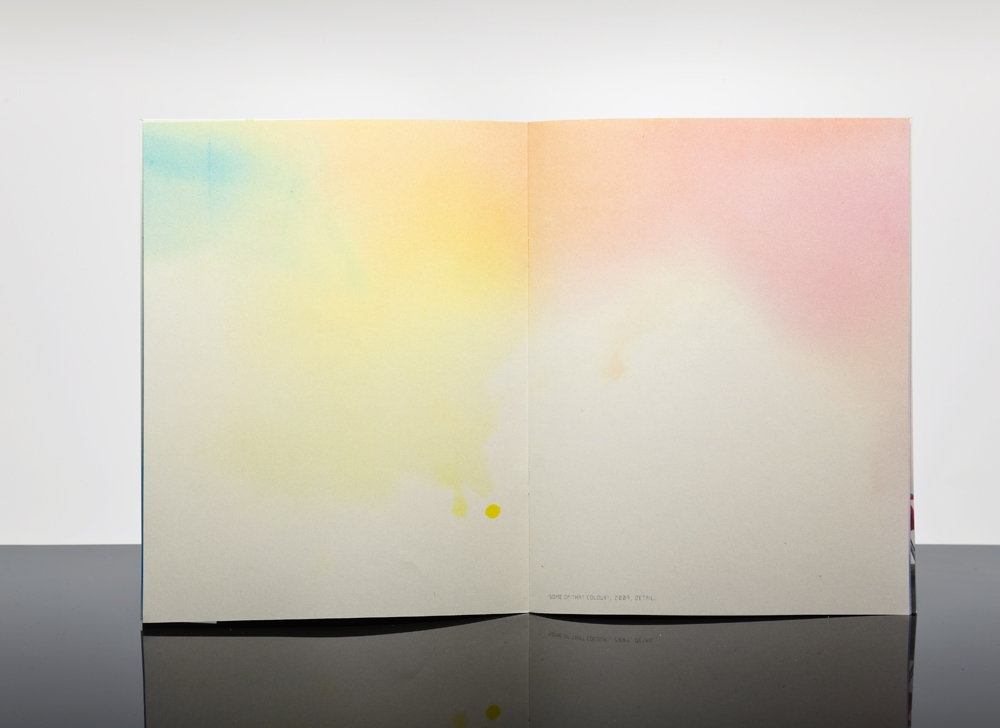 Felix Weigand - Amalia Pica. Some of that Colour, Publication for 'A Task for Poetry 3' by Onomatopee, 2009