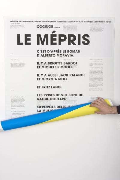 Felix Weigand - Le Mepris, Poster, 2004