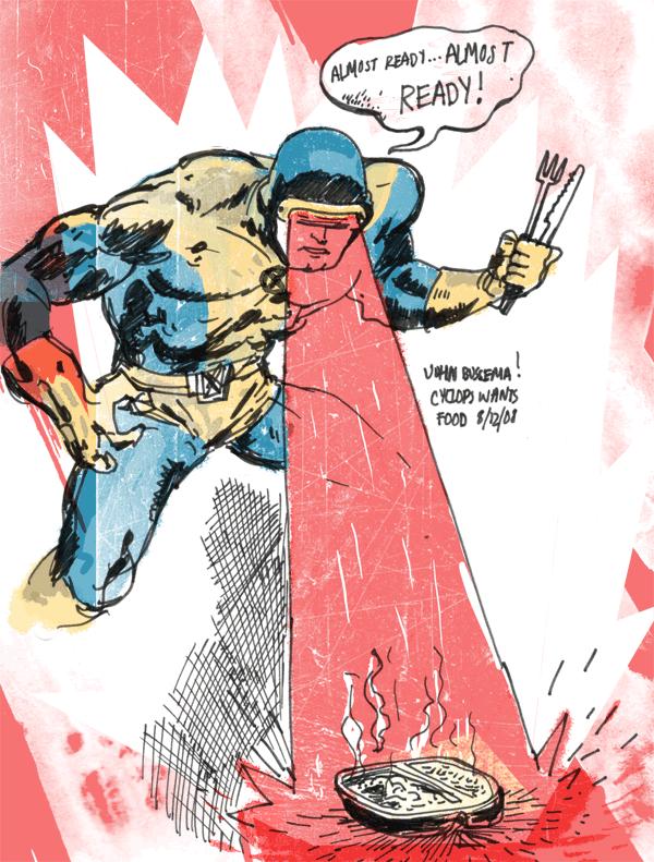 Super Heroes : Nervousdave