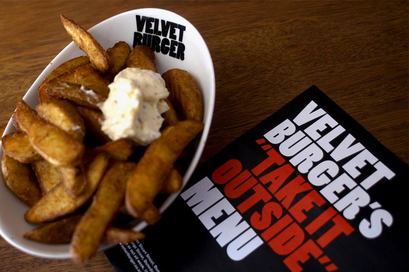 Velvet Burger. Brand Identity, Packaging Design, Signage Design, Wall Graphics. Everything Design. Auckland, New Zealand.